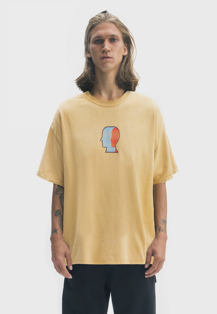 Breathing Problems T-Shirt - yellow