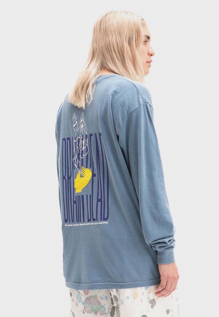 Ghost Long Sleeve T-Shirt - blue spruce