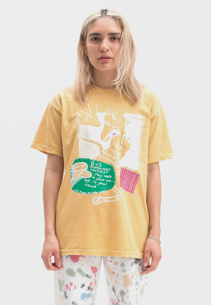 Medication T-Shirt - yellow