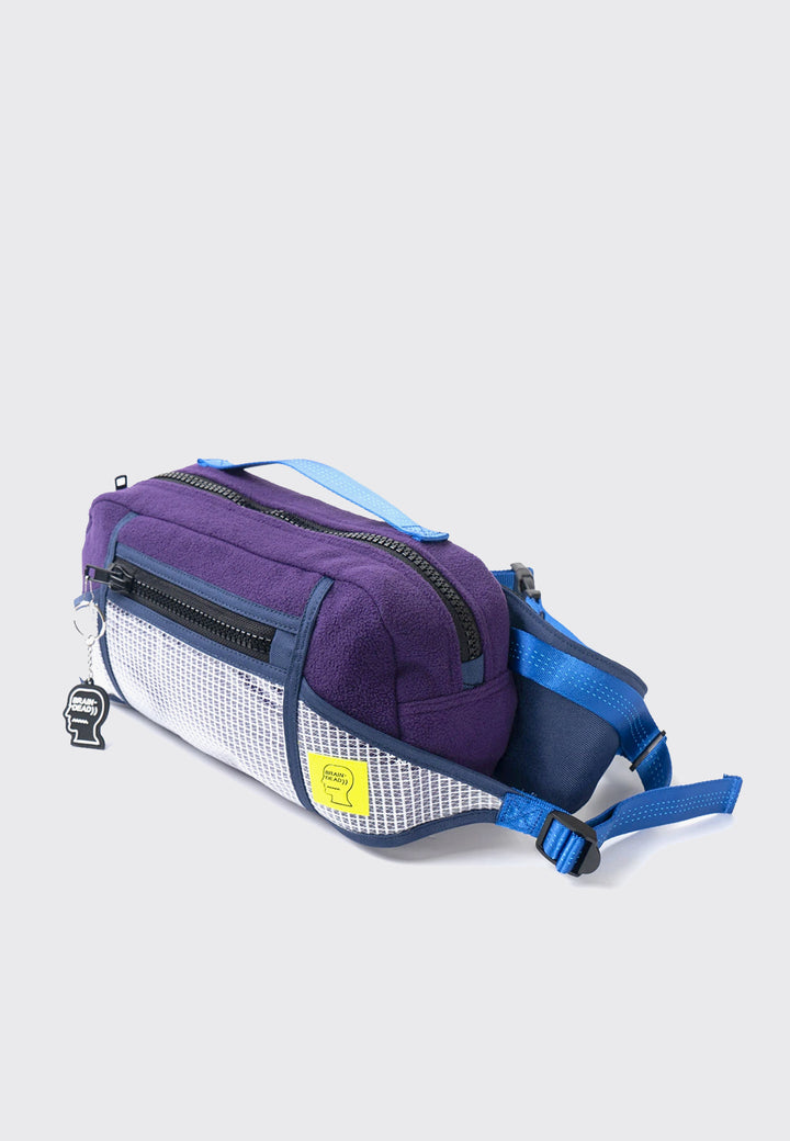 Sherpa Rush Hour Fanny Pack - purple/navy