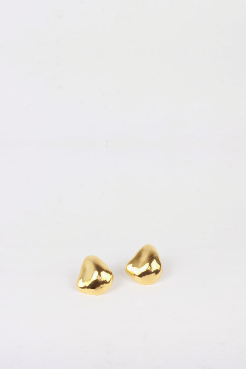 By Nye Bronte Studs - gold - Good As Gold