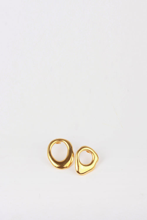 By Nye Drip Stud Earrings - gold - Good As Gold
