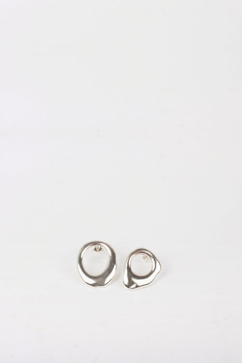 By Nye Drip Stud Earrings - silver - Good As Gold