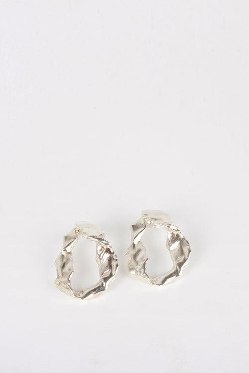 By Nye Form Earrings - silver - Good As Gold