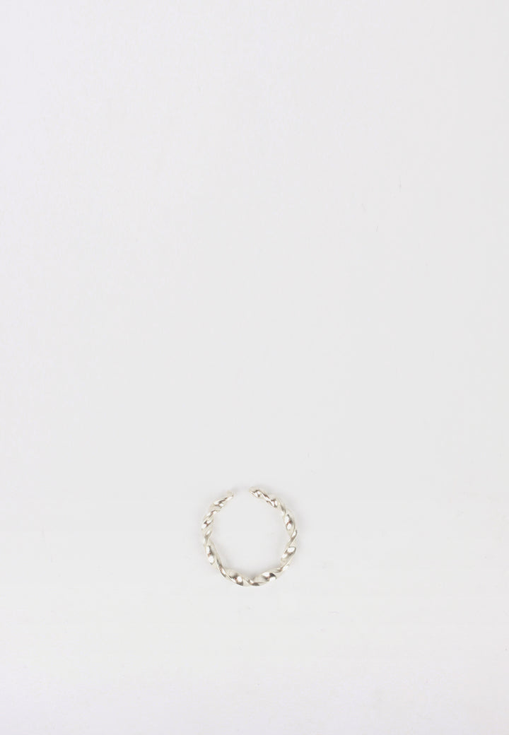 By Nye Twist Ring - silver - Good As Gold