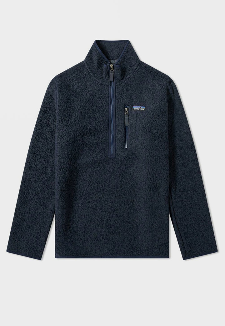 Patagonia Retro Pile Pullover Jacket - navy - Good As Gold