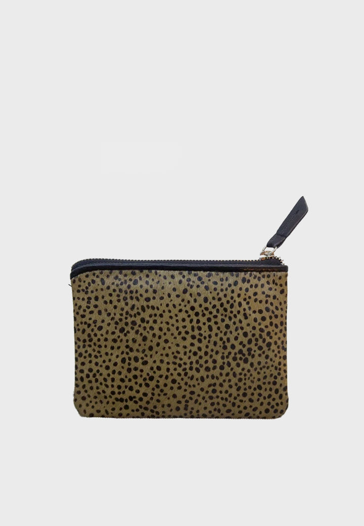 WOS | Keeper Wallet - olive dot | Good As Gold, NZ