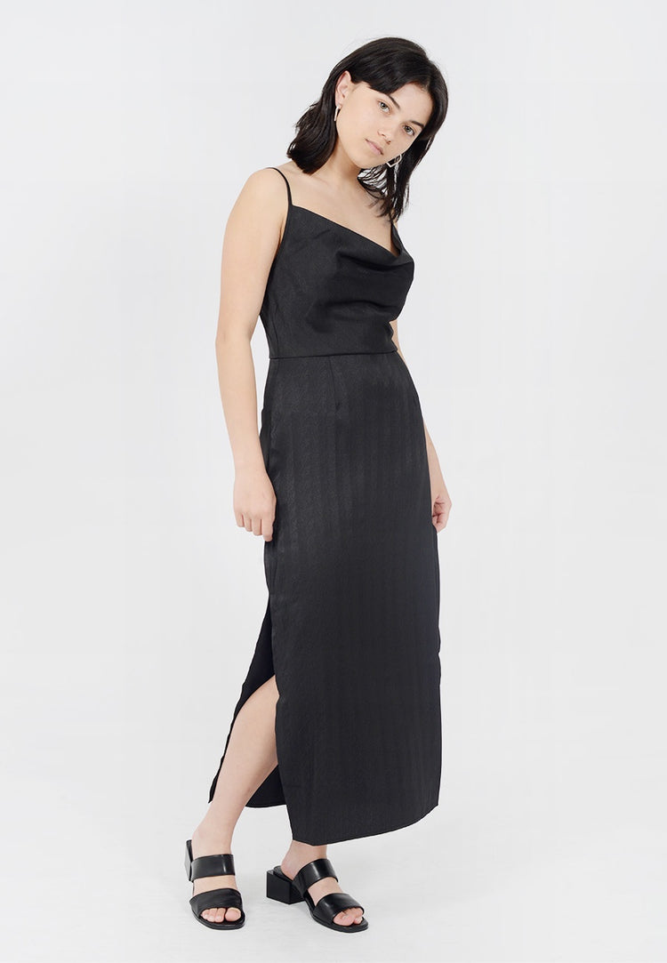 The Fifth Lotti Slip Dress - black - Good As Gold
