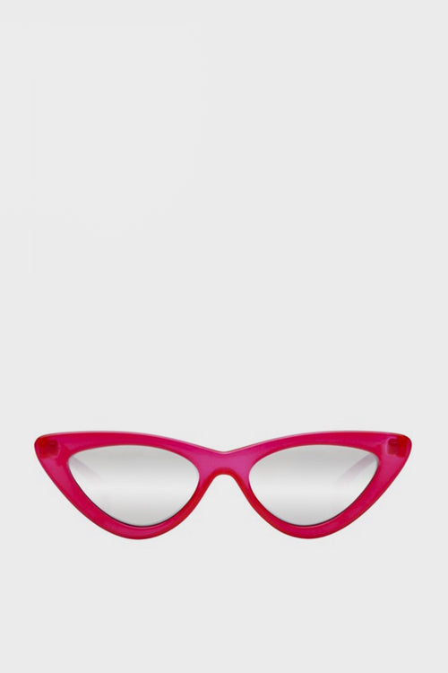 X Adam Selman The Last Lolita Sunglasses - opaque red