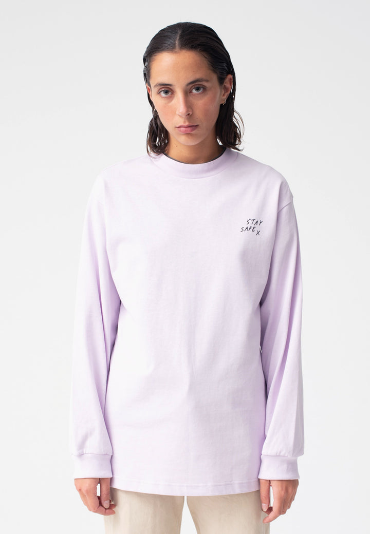 Stay Safe Long Sleeve - lavender