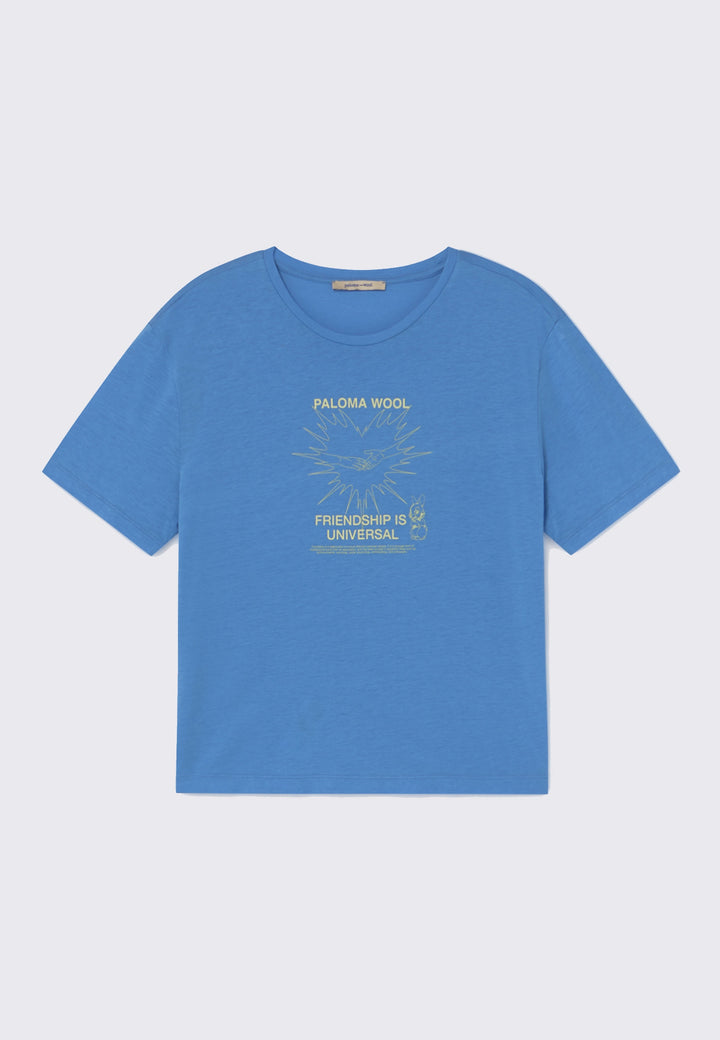 Souvenir Corazon T-Shirt - soft blue