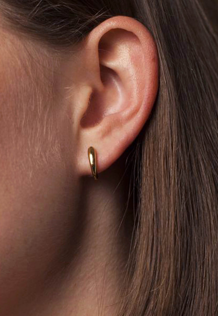 Curl Earrings - gold