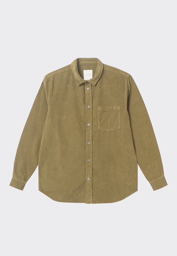 Aske Shirt - dark green