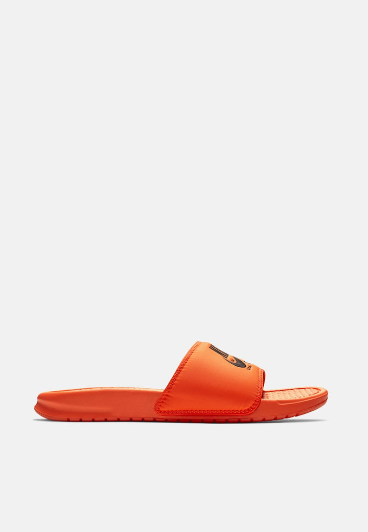 Nike Benassi Slide - total orange — Good as Gold