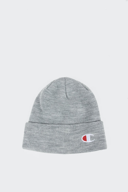 Champion Logo Beanie - oxford grey | GOOD AS GOLD | NZ