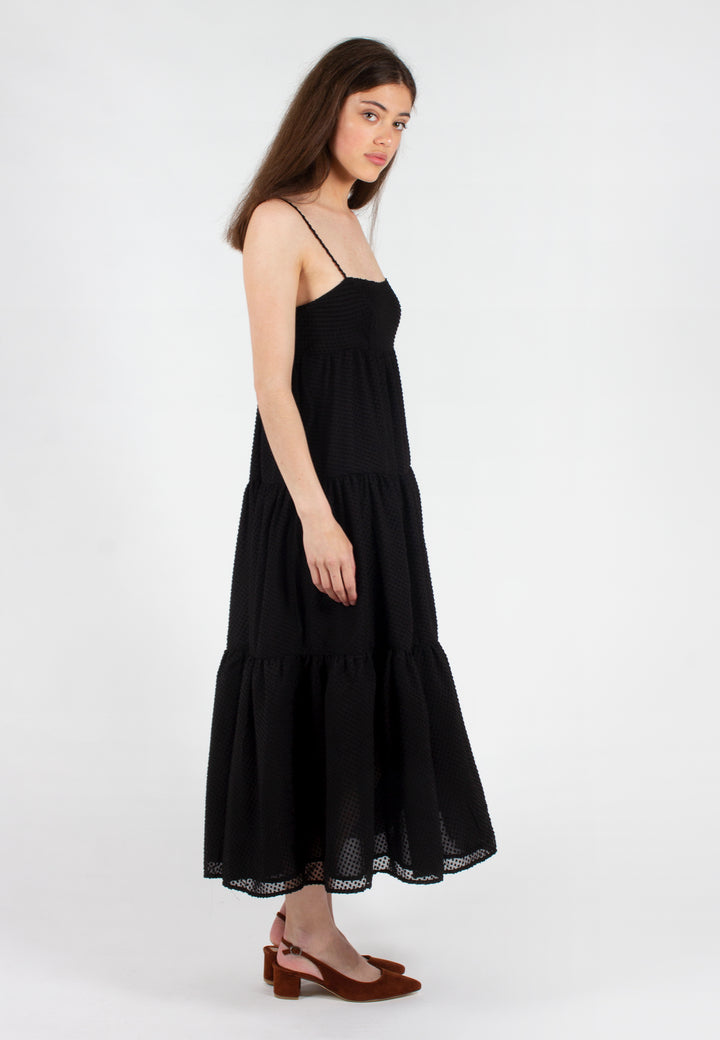 Break In Two Maxi Dress - black