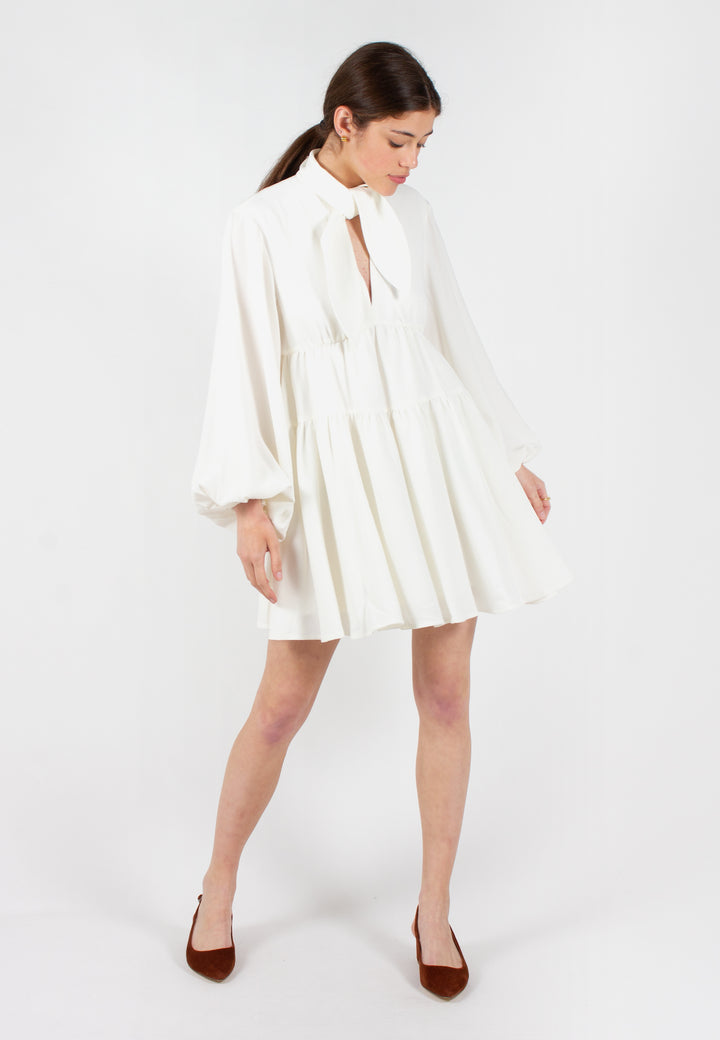 Chapter One Long Sleeve Dress - ivory