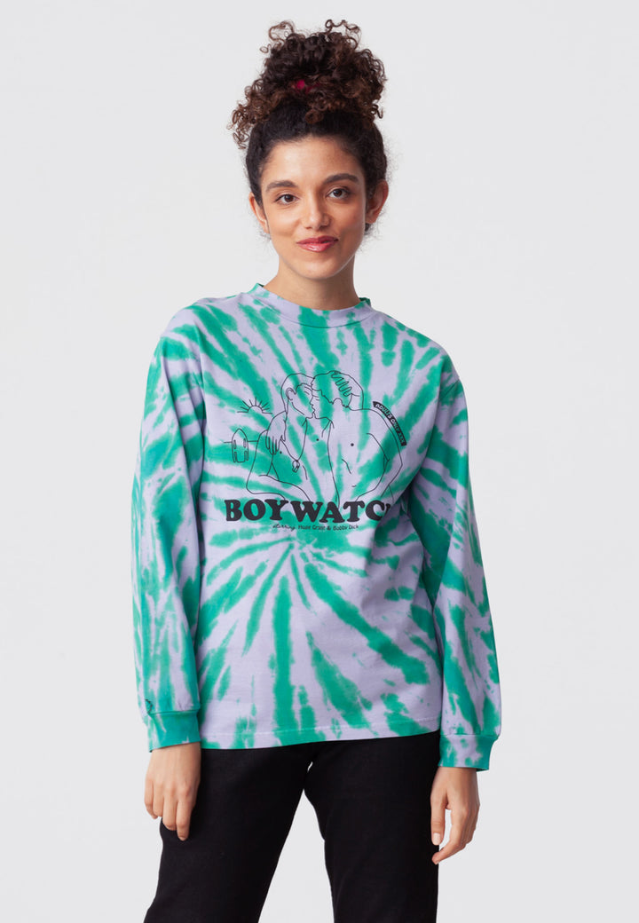 Boywatch Long Sleeve - tie & die