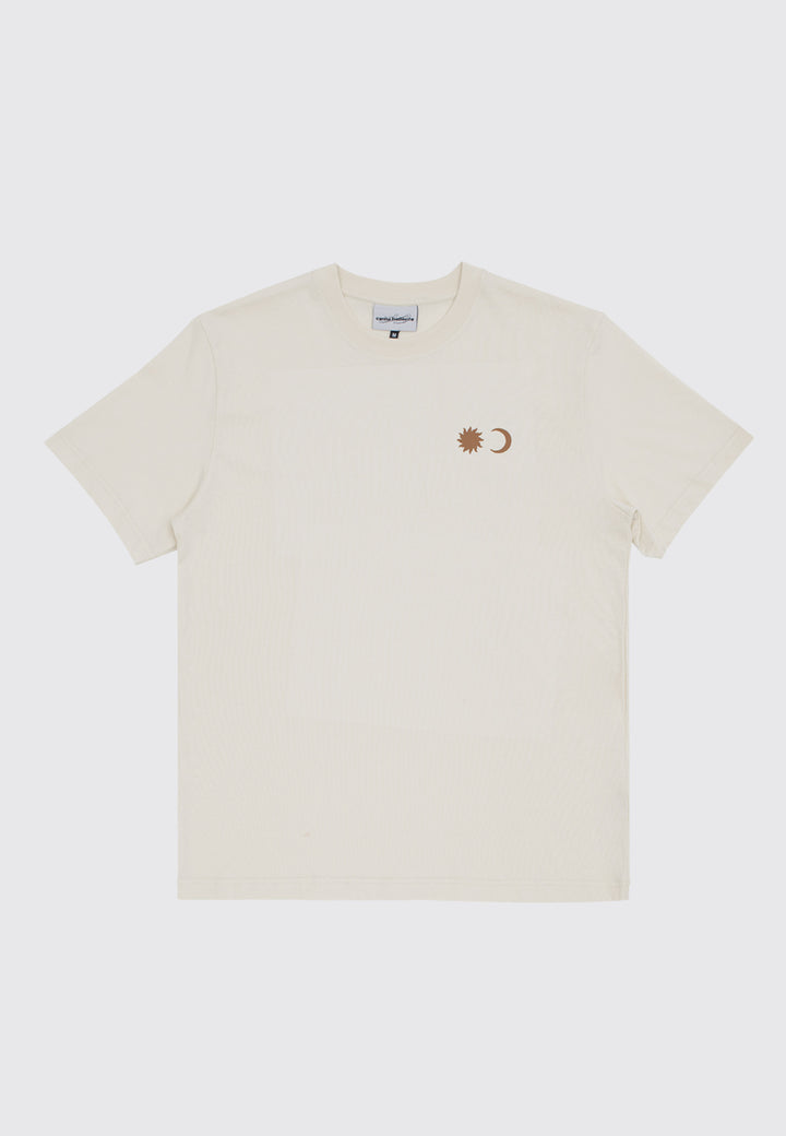 Couple Calender T-Shirt - beige