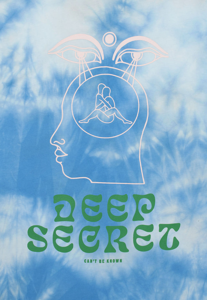 Deep Secret T-Shirt - tie die