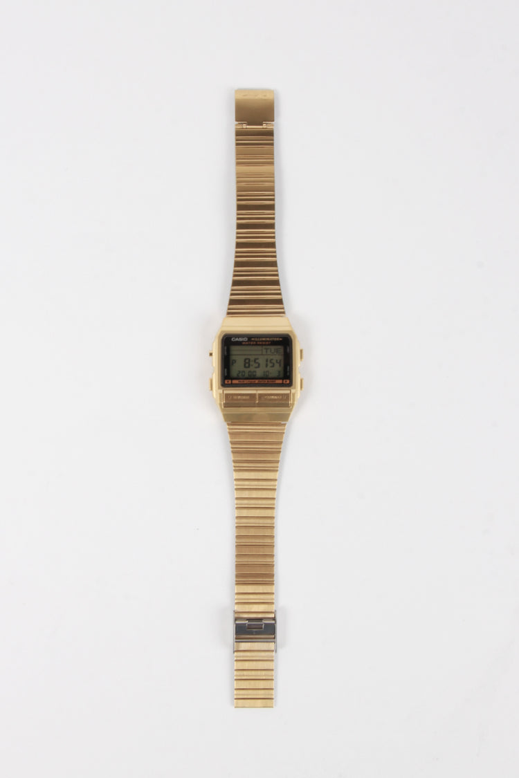 Casio Classic Databank Watch (DB380G-1D) - gold  | GOOD AS GOLD | NZ