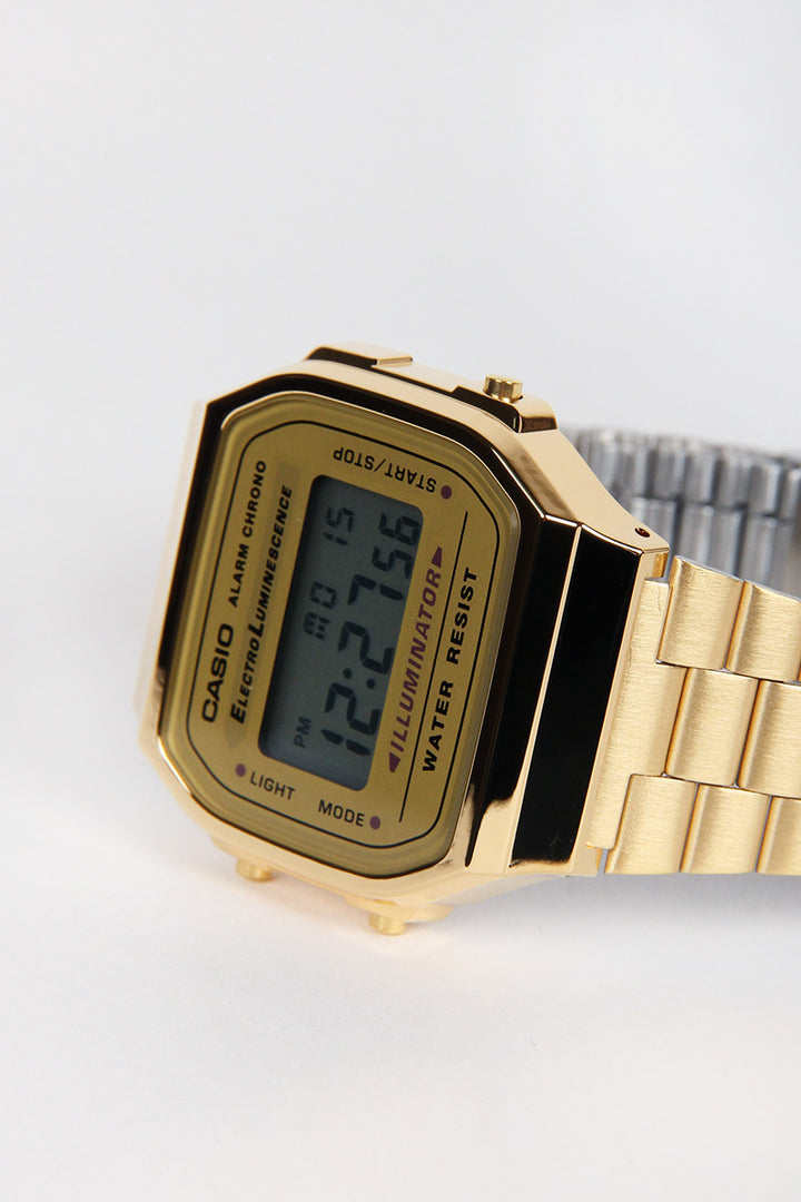 Casio, Digital Watch (A168WG-9W), gold | GOOD AS GOLD | NZ