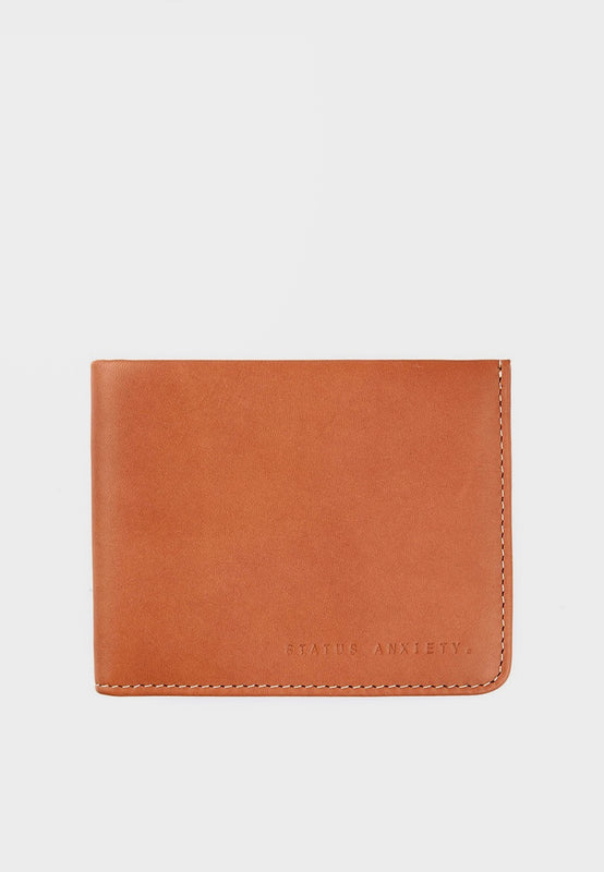 Status Anxiety Alfred Wallet - camel - Good As Gold