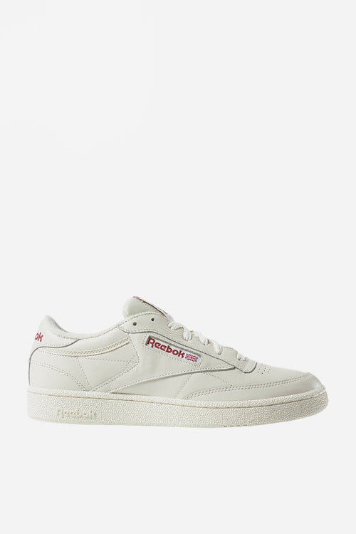 Reebok Club C 85 MU - vintage chalk/meteor red — Good as Gold