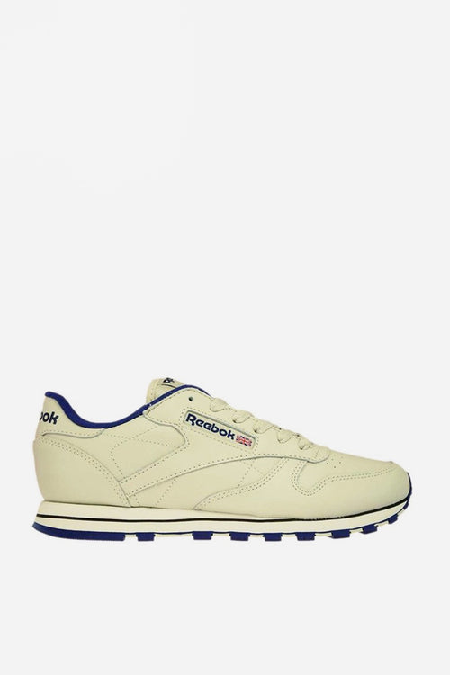 CL Leather - ecru/navy