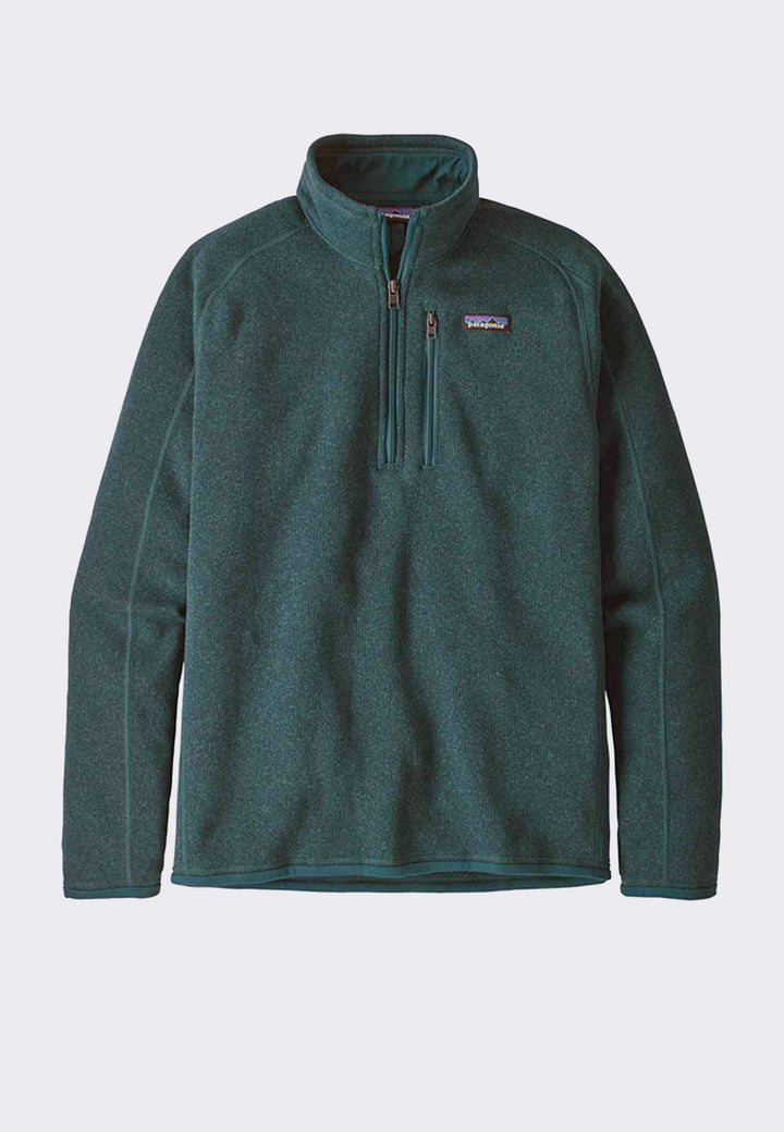 Better Sweater 1/4 Zip - piki green