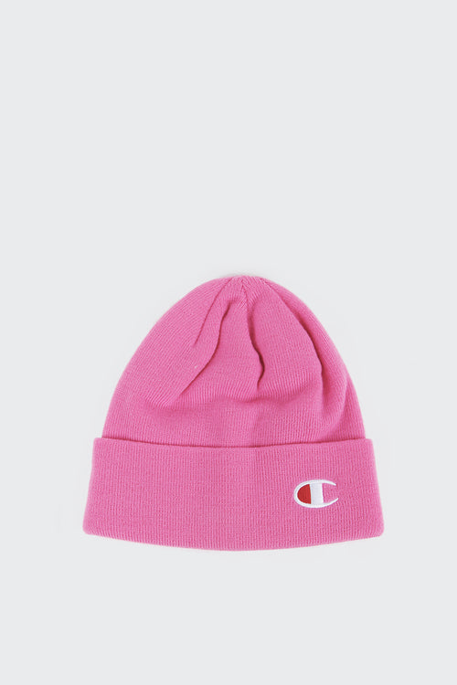 Champion Logo Beanie - pink | GOOD AS GOLD | NZ