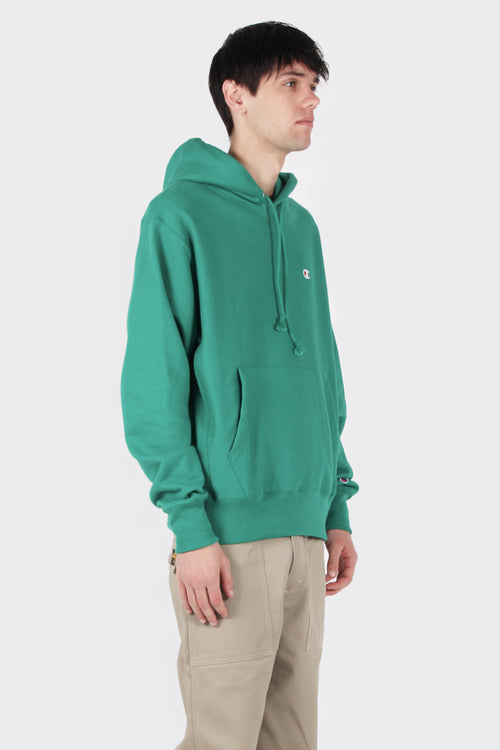 Champion Reverse Weave PO Hoodie - kelly green | GOOD AS GOLD | NZ