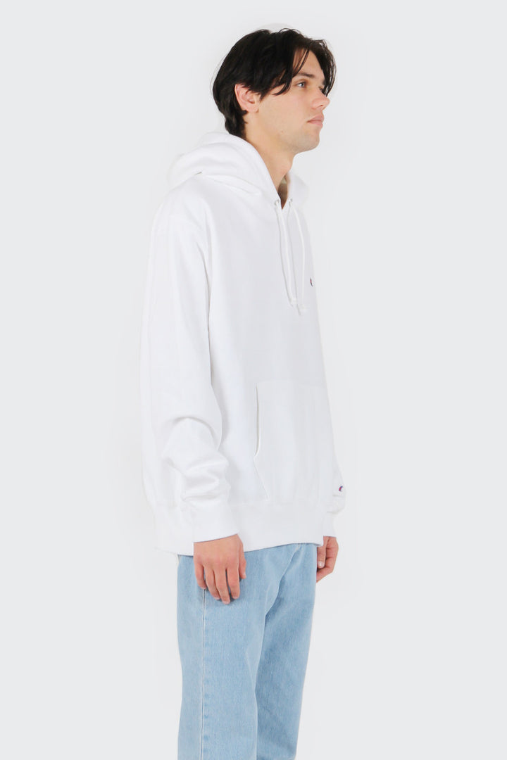 Champion Reverse Weave PO Hoodie - white | GOOD AS GOLD | NZ