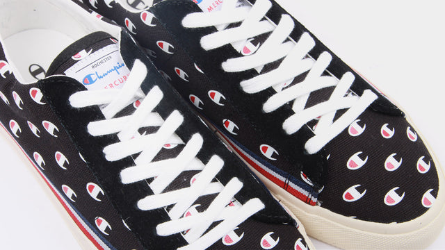 Champion Europe W Mercury Low Canvas - black c logo | GOOD AS GOLD | NZ
