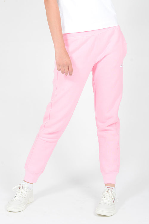 Champion Womens Reverse Weave Jogger - candy pink — Good as Gold