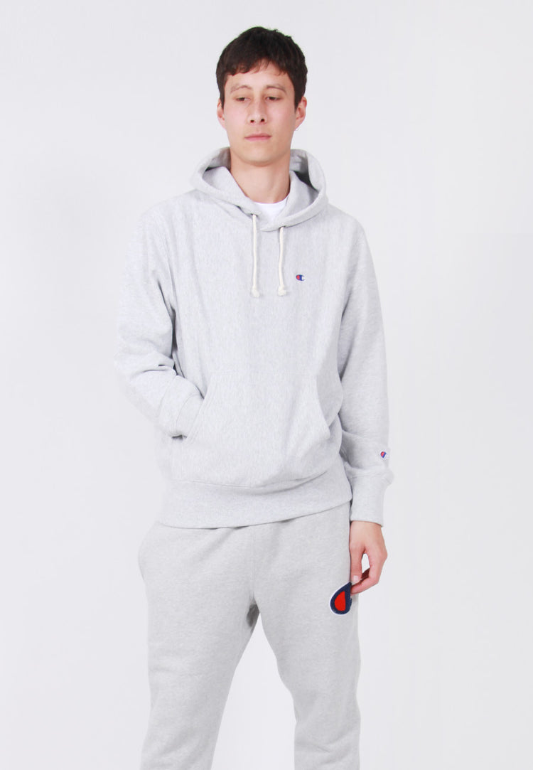Champion Europe Reverse Weave Hoodie - oxford grey – Good as Gold