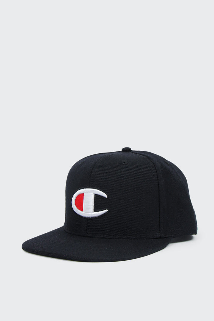 Champion Big C Snapback Cap - black | GOOD AS GOLD | NZ