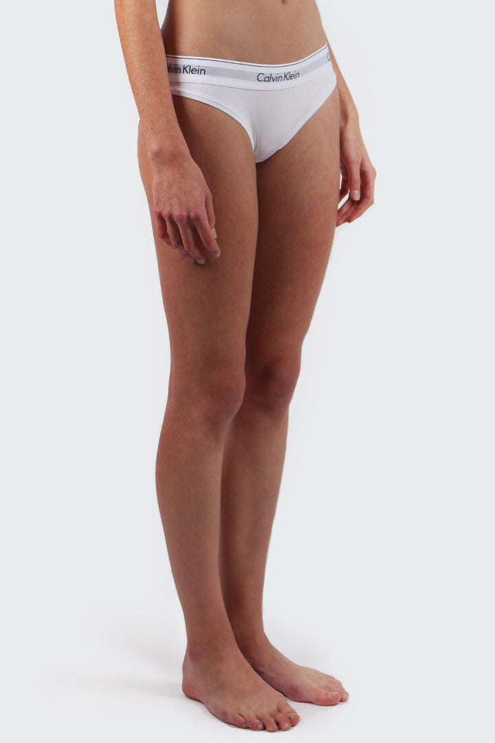 Calvin Klein Modern Cotton Bikini Brief - white | GOOD AS GOLD | NZ