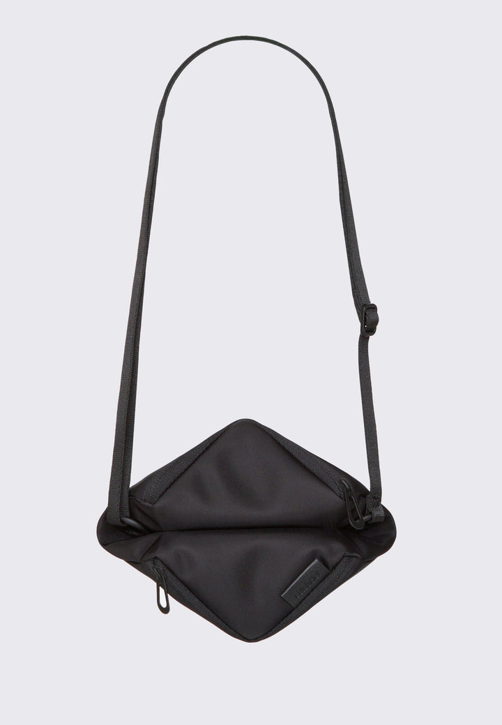 Medium Tara Sleek Nylon Bag - black