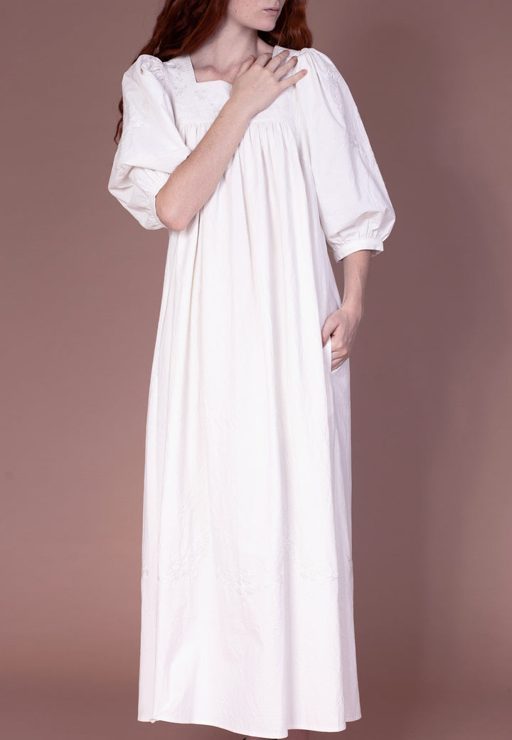 Crocus Dress - off white