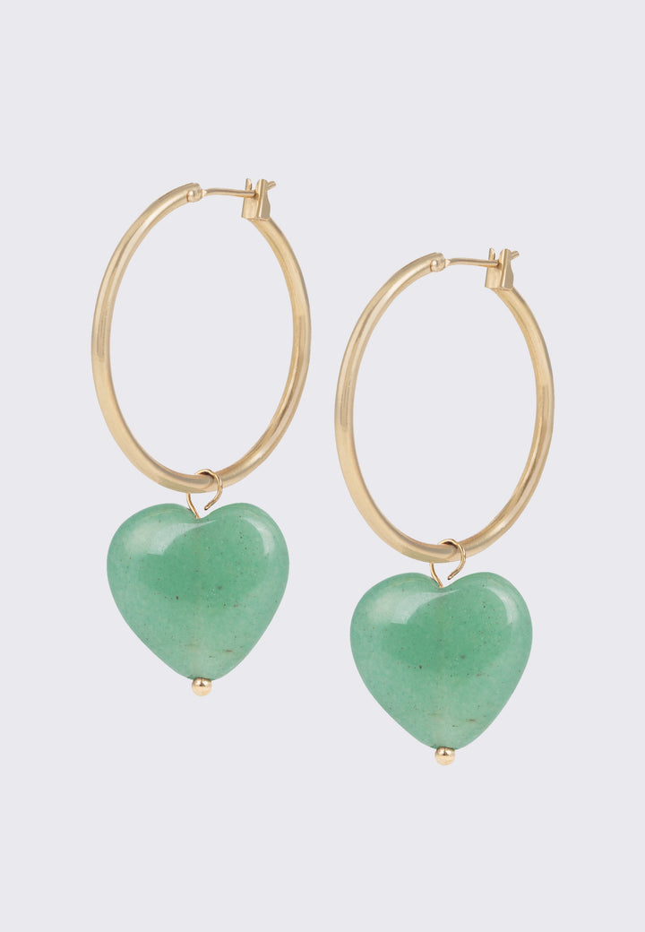 Labravo Earrings - aquamarine