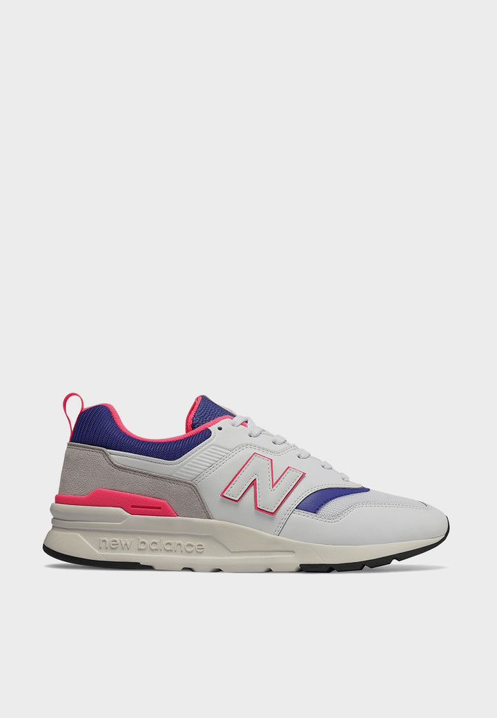 Womens 997H - white/pink/blue
