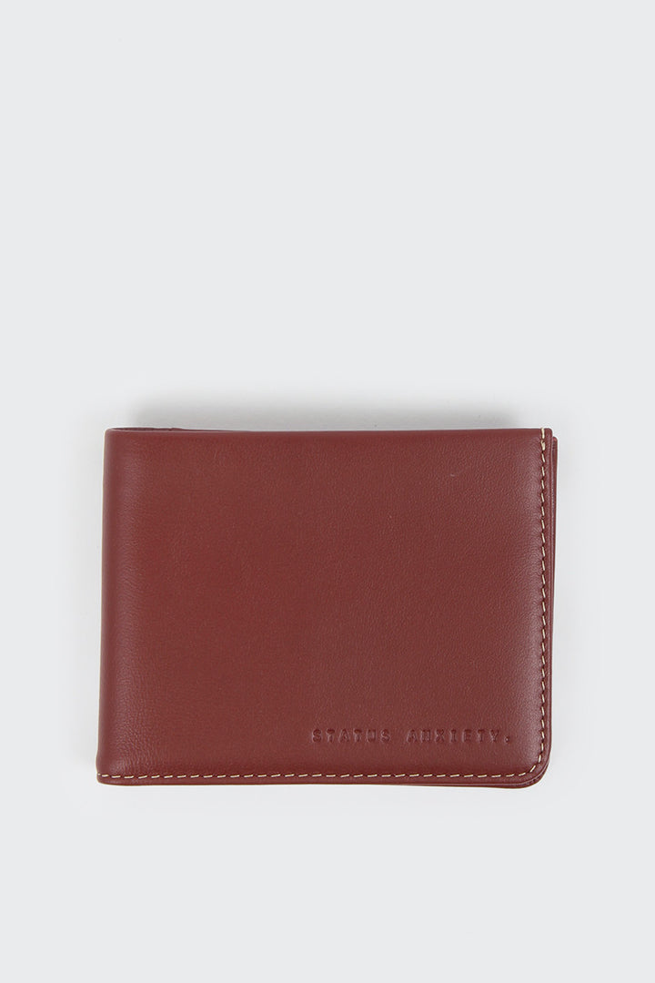 Status Anxiety Alfred Wallet - cognac | GOOD AS GOLD | NZ