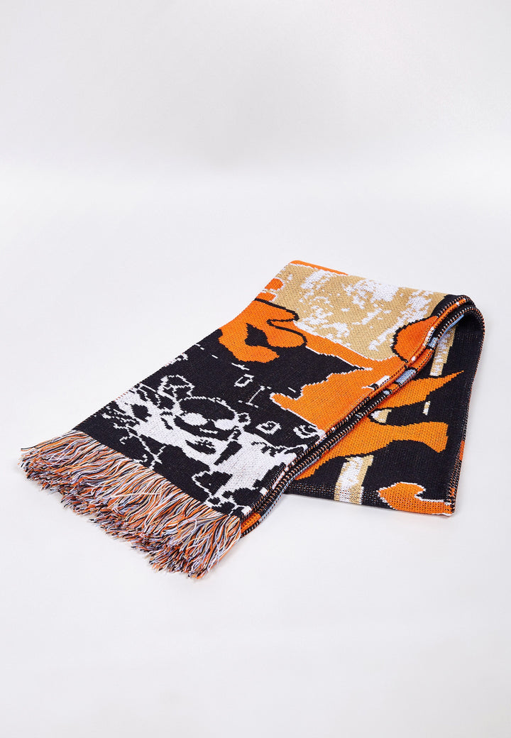 Dig Deeper And Deeper Scarf - multi