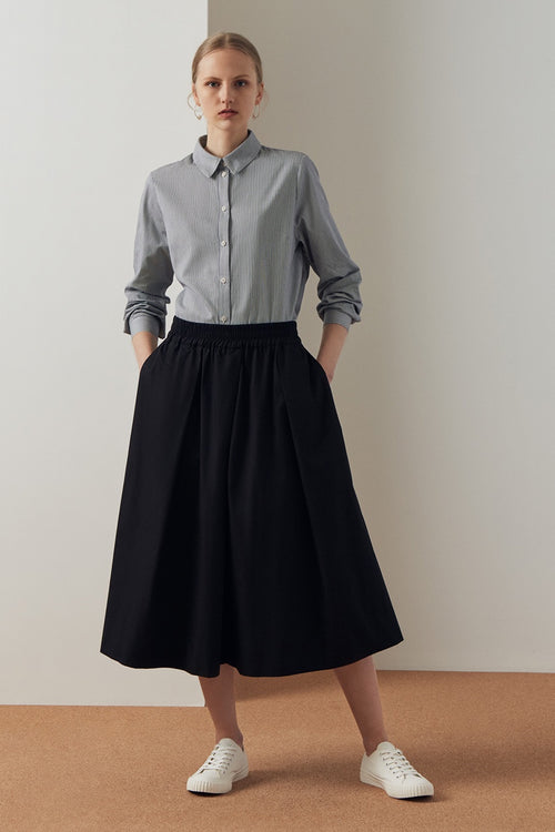 Kowtow Culottes - black — Good as Gold