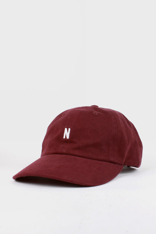 Norse Projects N Logo Cap - ritteri purple - Good As Gold