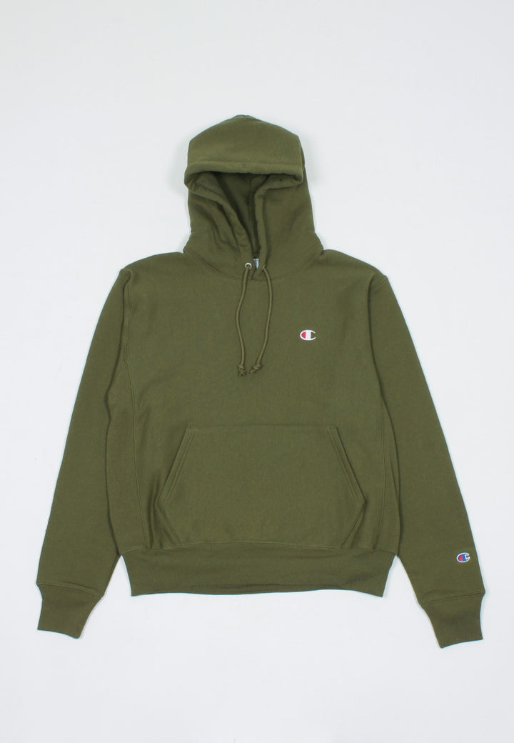 Champion Reverse Weave PO Hoodie - army hammer — Good as Gold