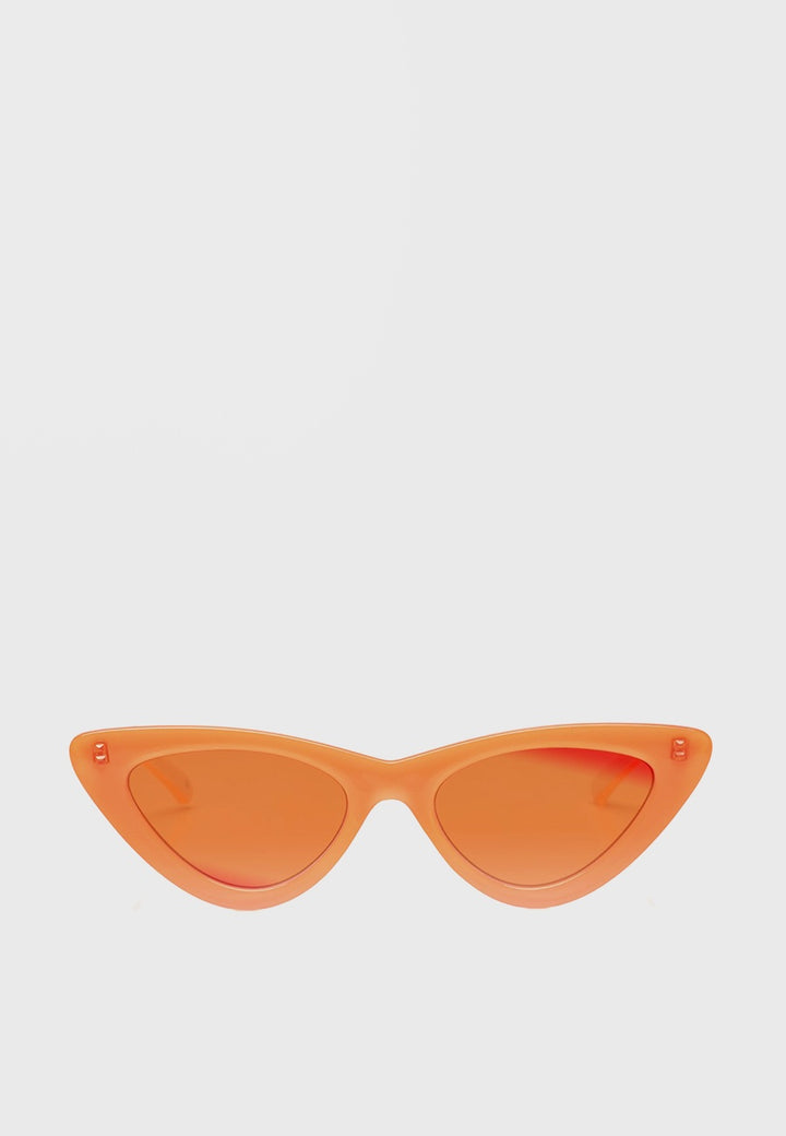 Le Specs The Last Lolita Sunglasses - neon orange - Good As Gold