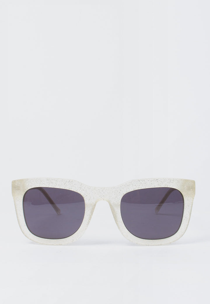 Kaibosh | Chips & Salsa Sunglasses - ice dust | Good As Gold, NZ