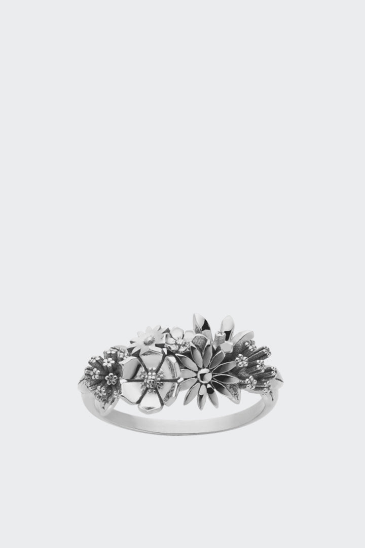 Meadowlark Overgrown Ring - silver | GOOD AS GOLD | NZ